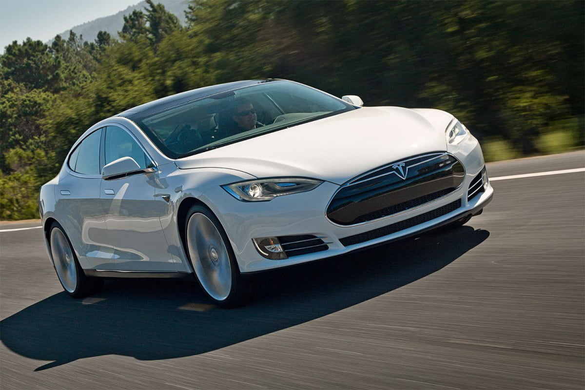 the tesla model s is now fastest car in world because you can rent it from hertz
