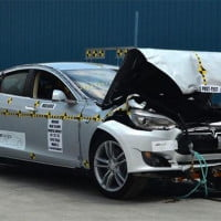 Tesla Model S is now the safest car ever crash-tested by NHTSA