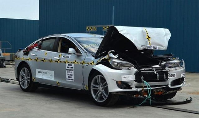nhtsa clarifies tesla model s crash test results