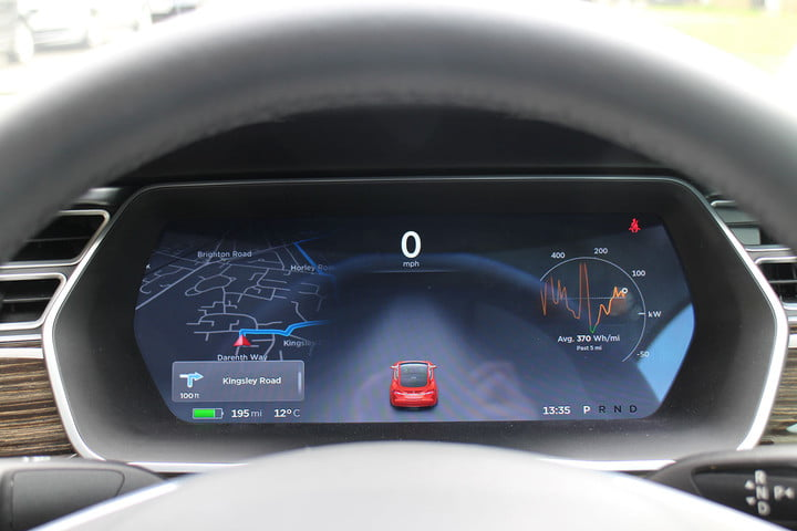 abnormally normal driving the tesla model s p  d