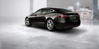 Tesla Model S Performance black rear