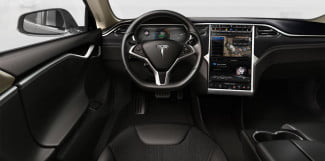 Tesla Model S Performance interior front