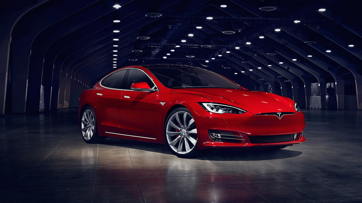 tesla  kwh battery pack already in model s updates front