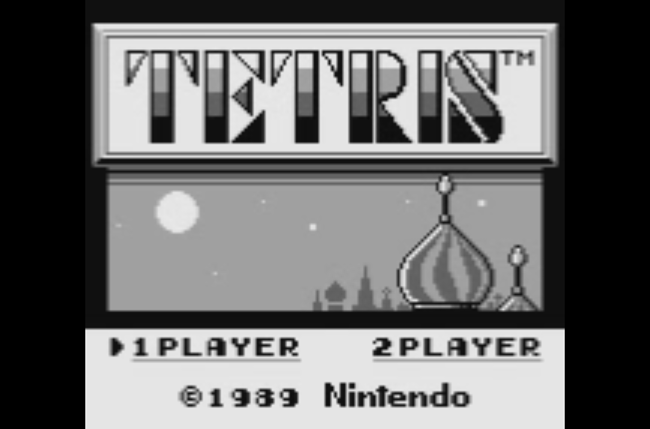 Tetris Screen 1