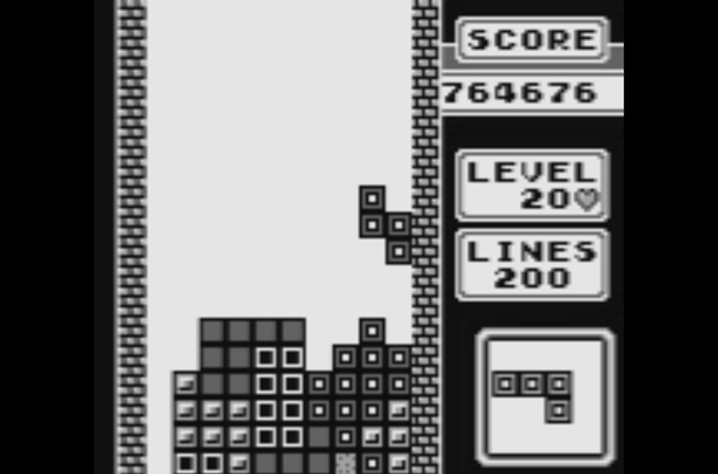 Tetris Screen 2