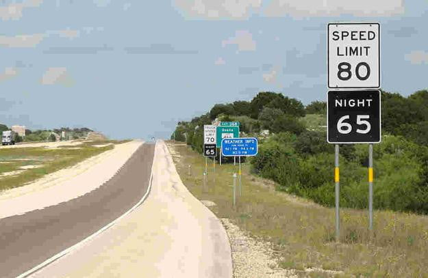 Texas toll road could see speed limit increased to 85 mph