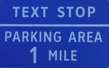 text stop sign