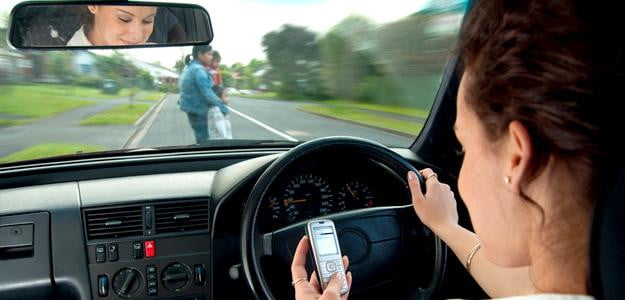 Texting while driving dangerous