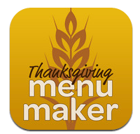 thanksgiving menu maker
