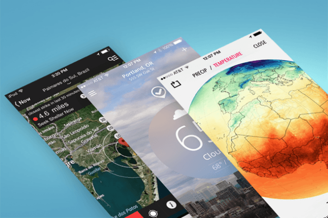 best weather apps for iphone the