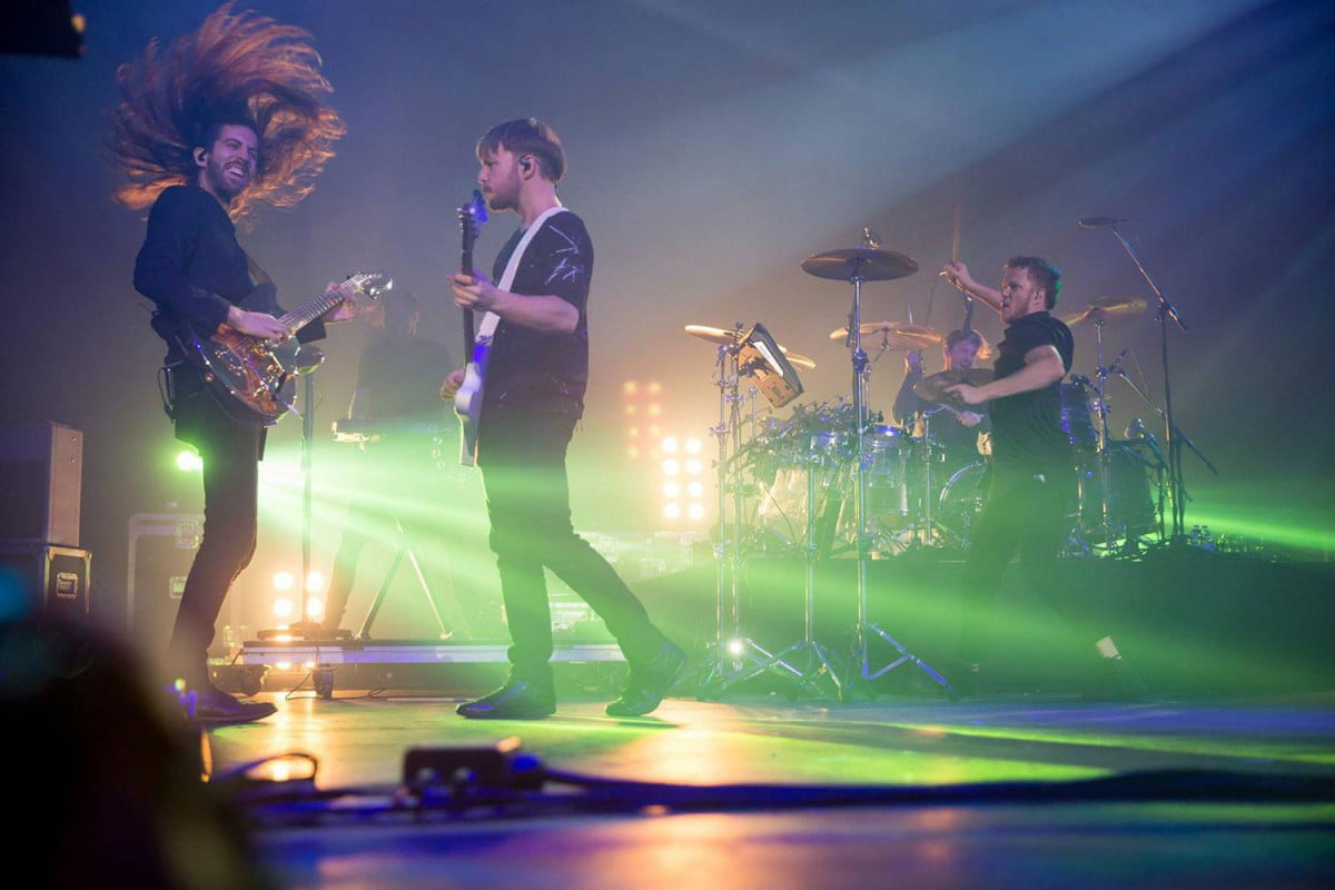 interview imagine dragons wayne sermon on smoke mirrors the audiophile