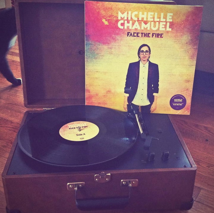 michelle chamuel of the voice on her album face fire audiophile