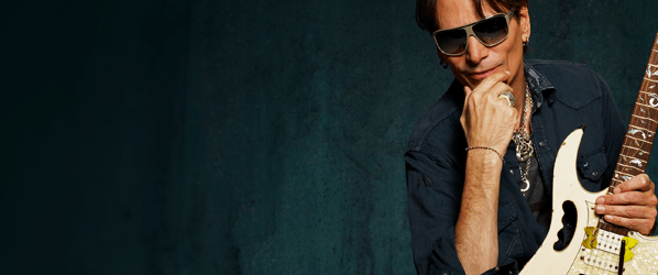 Steve Vai literallybled for his musicon 'Passion andWarfare'