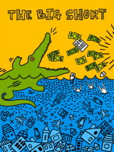 The Big Short (Artist Inspiration: Keith Haring) by Flo Lau.