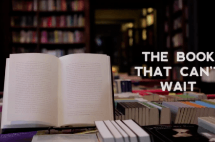 The Book That Can't Wait