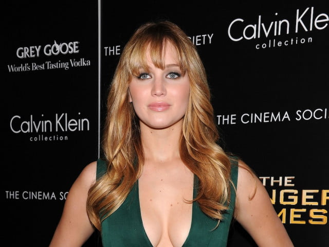 jennifer lawrence to play fidel castros mistress the cinema society  calvin klein collection host a screening of hunger games