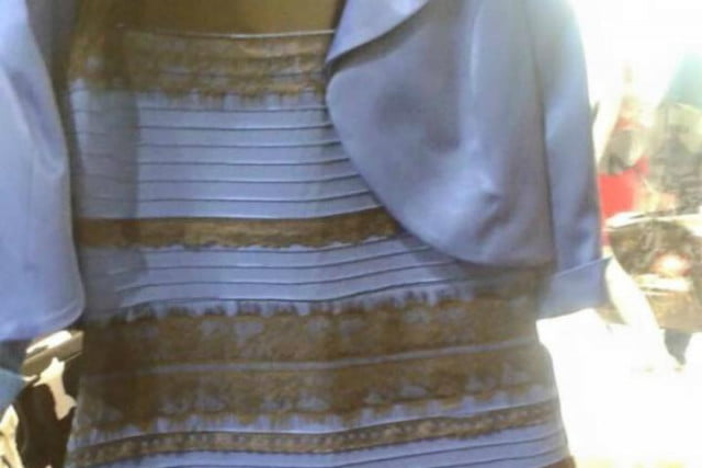 stop arguing the dress is white and gold or black blue top