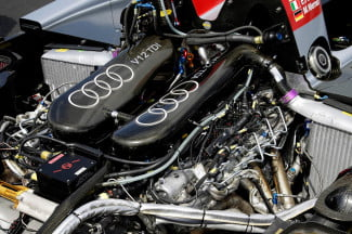 The-engine-of-the-Audi-R10-TDI