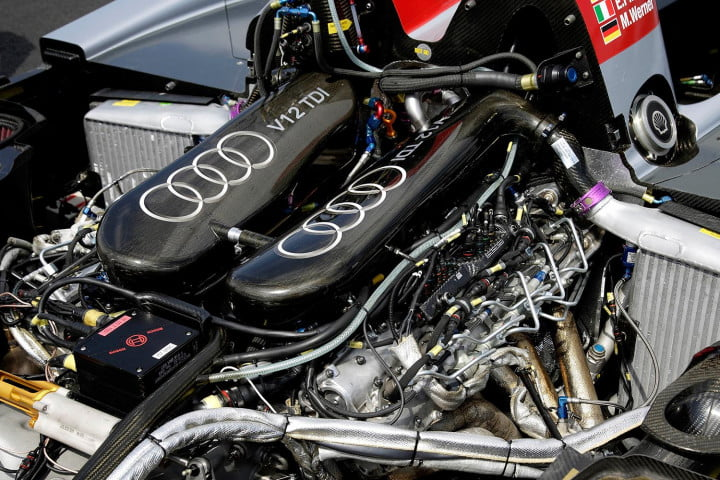 le mans tech the engine of audi r  tdi