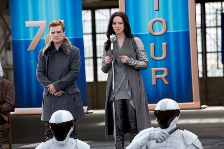 hunger games catching fire review the victory tour