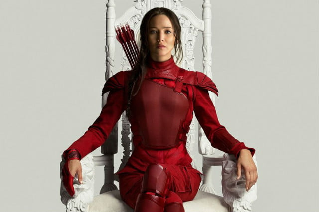 weekend box office the hunger games mockingjay part
