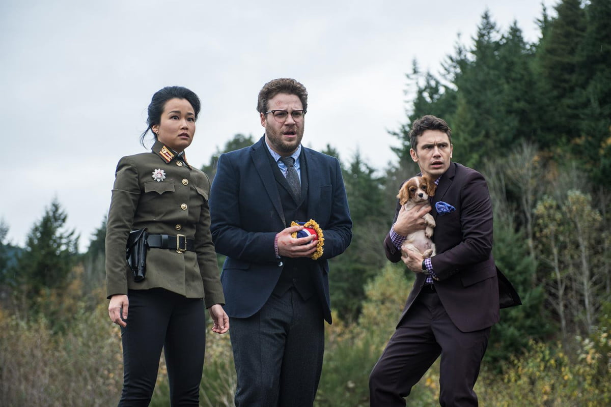 the interview widens viewing options with itunes release movie