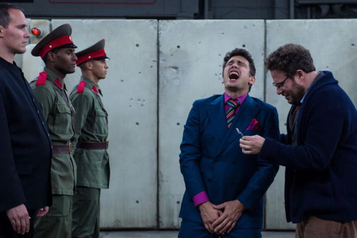 the interview review movie