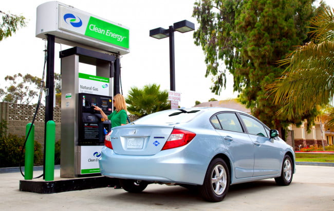 The invisible fuel: Is a natural gas car a good way to go green?