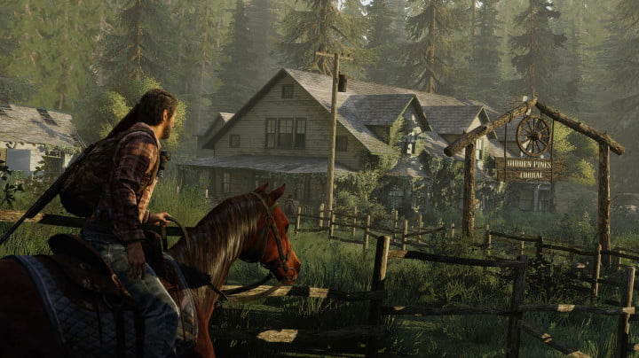 last us remastered review the of screenshot