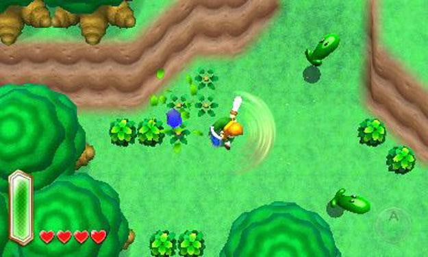 the legend of zelda a link between worlds review screenshot