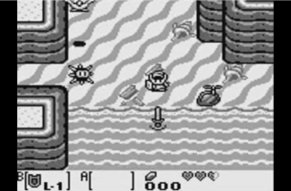 The Legend Of Zelda- Link's Awakening Screen 1