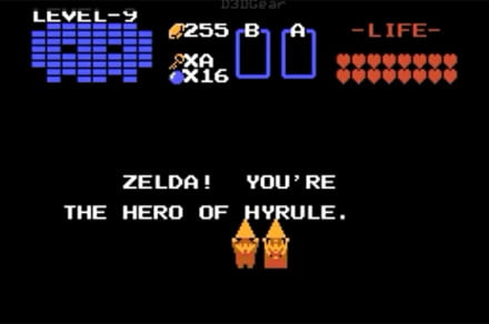 The Legend of Zelda, mod by Kenna W