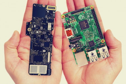 The new MacBook's logic board is smaller than a Raspberry Pi