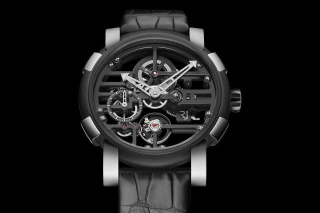 The Manual Wind: Romain Jerome Skylab 48 in honor of NASA's Space Station