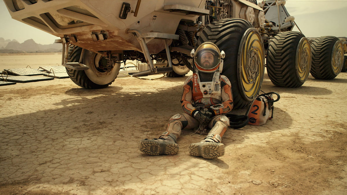 weekend box office results the martian movie