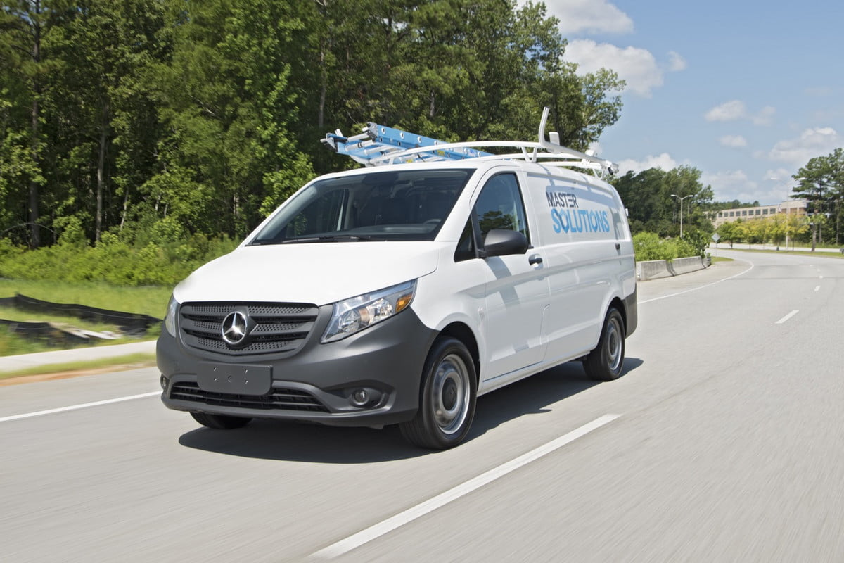 mercedes benz metris worker van
