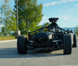 With some help from CGI, the shape-shifting Blackbird can look like any car