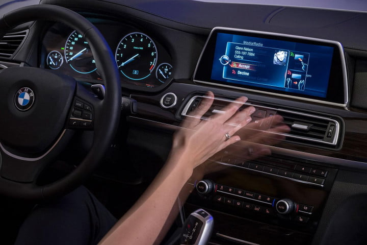 new bmw idrive features touchscreen and gesture recognition the next generation of
