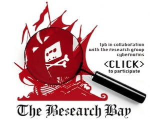 Pirate Bay Cybernorms research banner