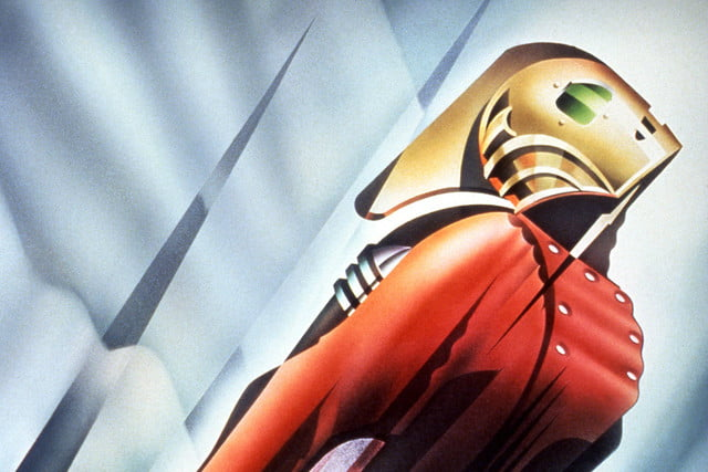 the rocketeer reboot plans poster