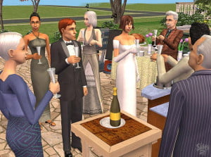 The Sims Wedding