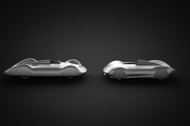 The Stromlinie 75 Concept is a beautiful tribute to the Auto Union Type C