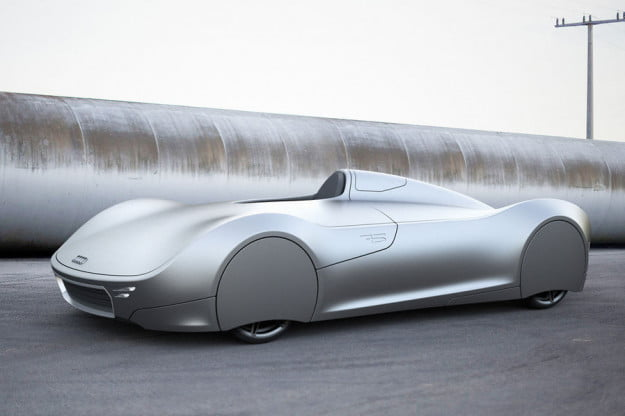 The Stromlinie 75 Concept is a beautiful tribute to the Auto Union Type C2