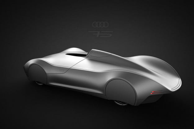The Stromlinie 75 Concept is a beautiful tribute to the Auto Union Type C3
