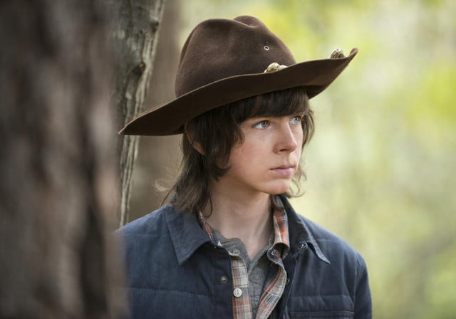 walking dead chandler leave the ep