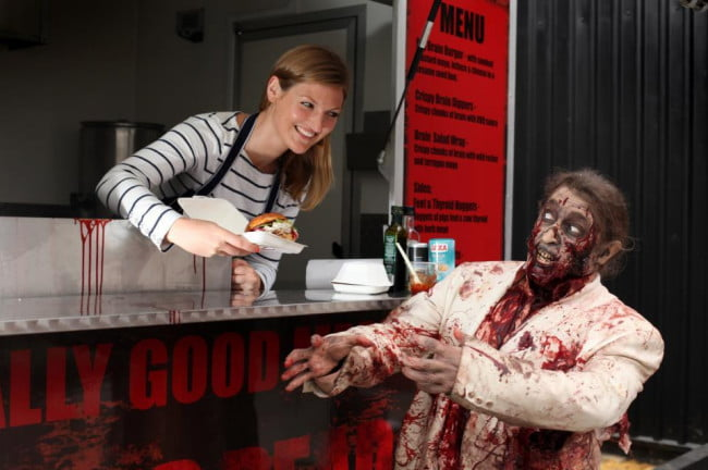 The Walking Dead Gory Gourmet food truck