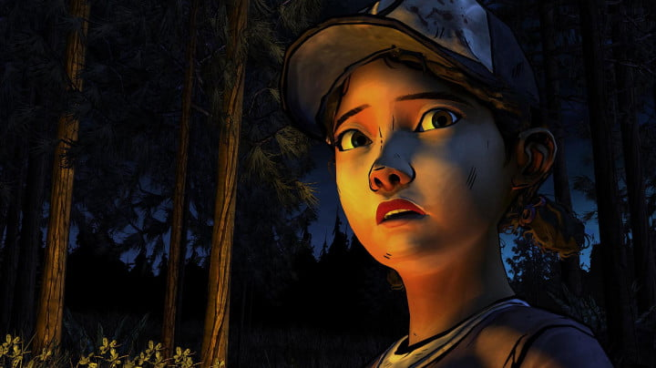 The-Walking-Dead-Season-Two---Clementine-campfire