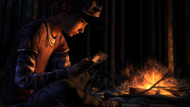 walking dead season two launches christmas the  clementine photo