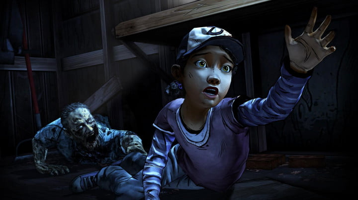 walking dead season two stars clementine launching  the shed