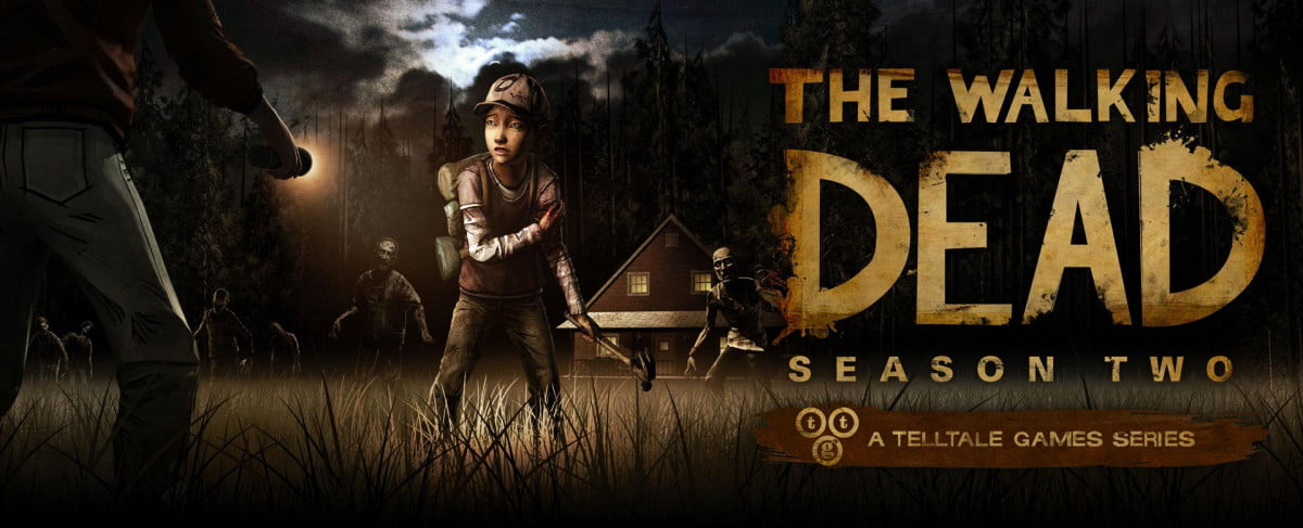 walking dead season two stars clementine launching  the logo